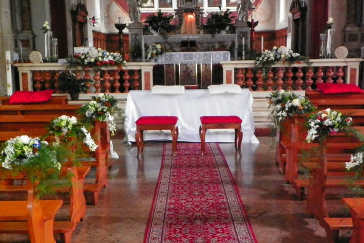 Addobbo Chiesa Matrimonio